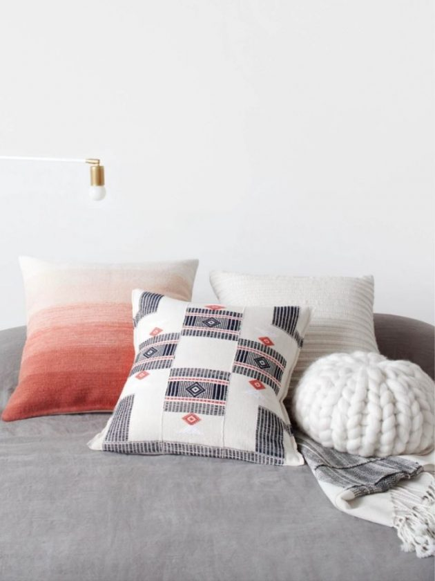Sustainable and ethical throw pillows from The Citizenry