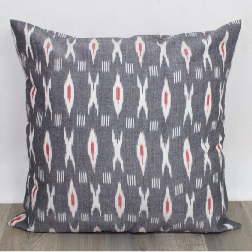 Fair trade throw pillow from Passion Lilie