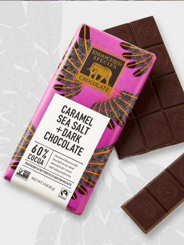 Fair trade ethical dark chocolate from Endangered Species
