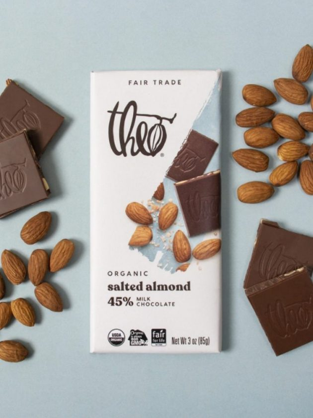 Fair trade ethical milk chocolate from Theo