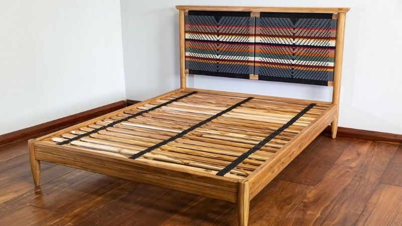Eco-friendly bed frame from Mayasa & Co