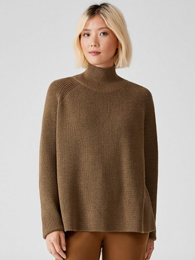 Regenerative wool clothing from Eileen Fisher