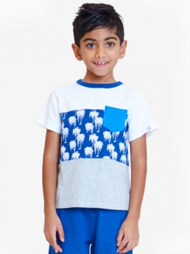 Kid with sustainable and eco-friendly clothing from art & eden