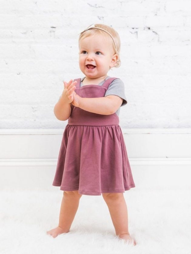 Kid with sustainable and eco-friendly clothing from Colored Organics