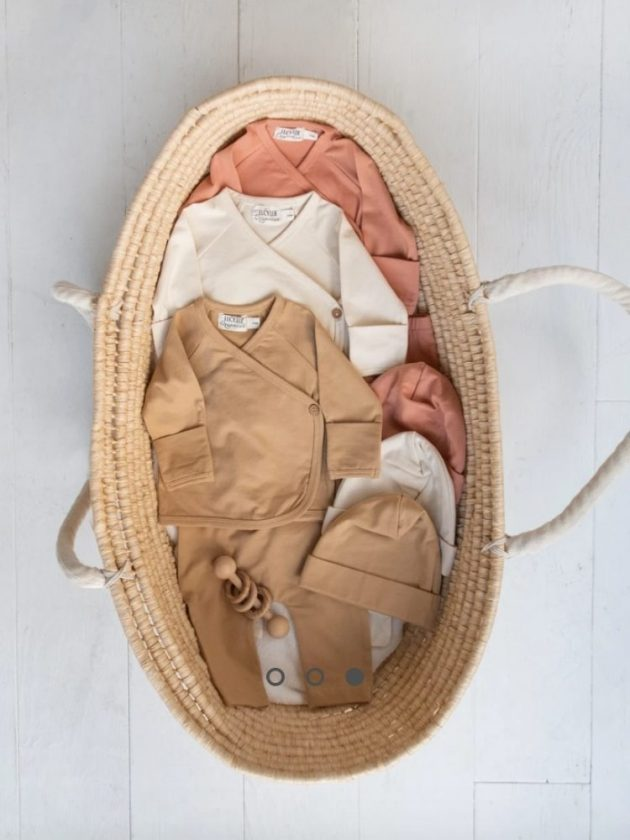 Sustainable and eco-friendly baby clothes from Lucy Lue Organics