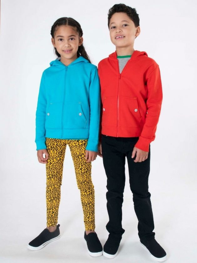 Kids with sustainable and eco-friendly clothing from Mightly