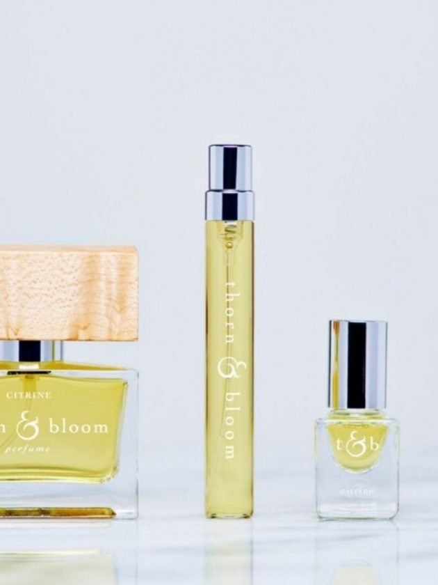 Natural and sustainable perfume from Thorn & Bloom
