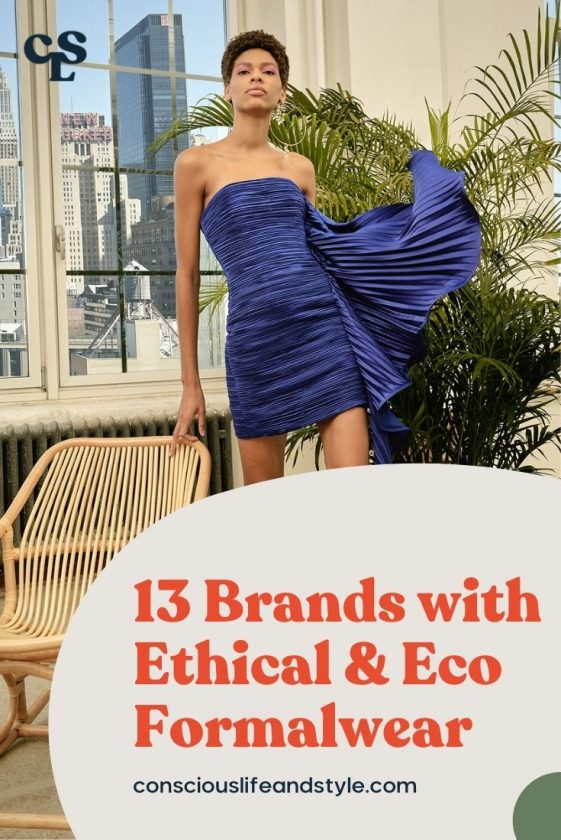 13 Brands with Ethical and Eco Formalwear - Conscious Life and Style