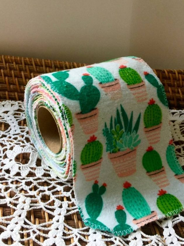Upcycled UnToilet Paper from Besse Margaret