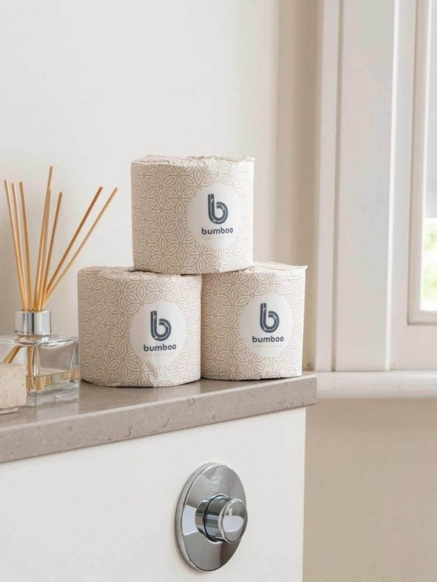 Eco-friendly tissue paper from Bumboo