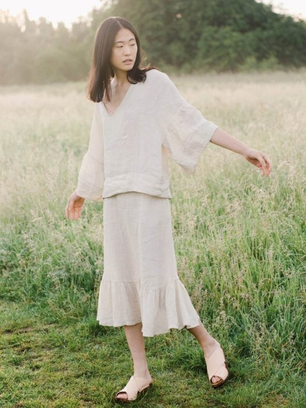 Linen clothing from the UK from Beaumont Organic