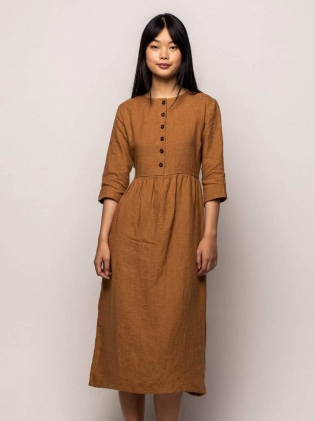 Linen dresses from Pyne & Smith