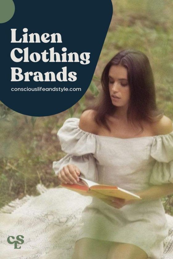 Linen Clothing Brands - Conscious Life and Style