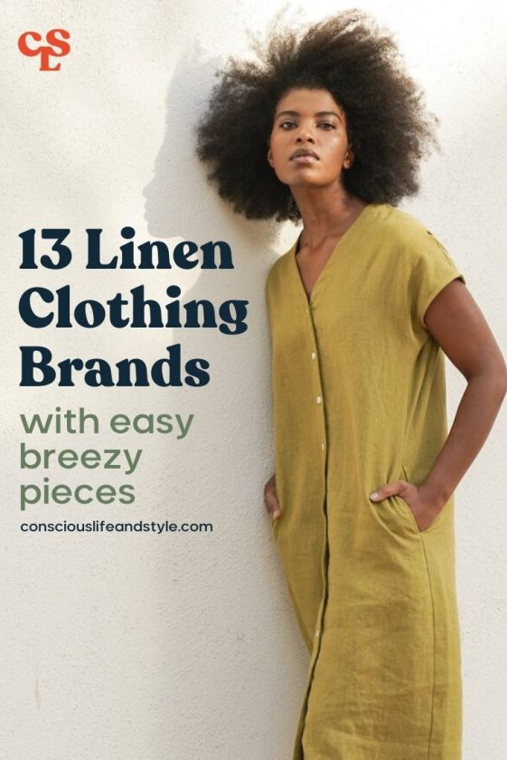 13 Linen Clothing Brands with Easy Breezy Pieces - Conscious Life and Style