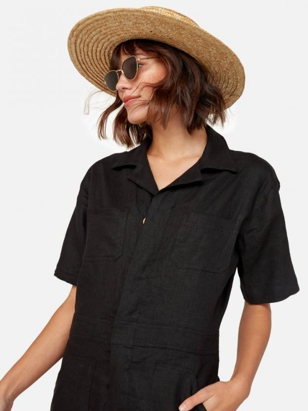 Eco-friendly linen clothing from Mate the Label