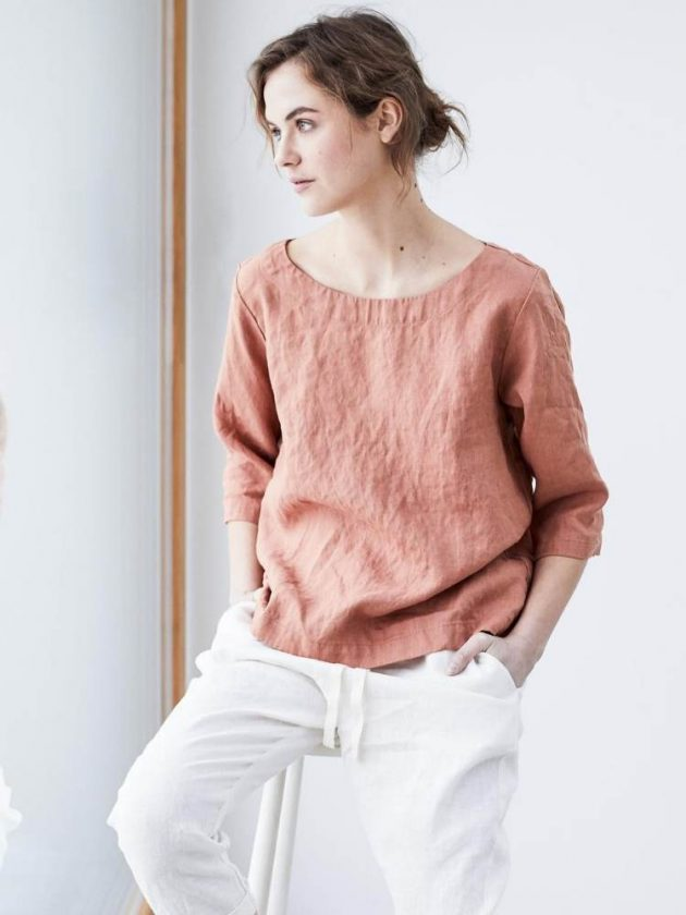 Eco-friendly linen clothing from Not Perfect Linen