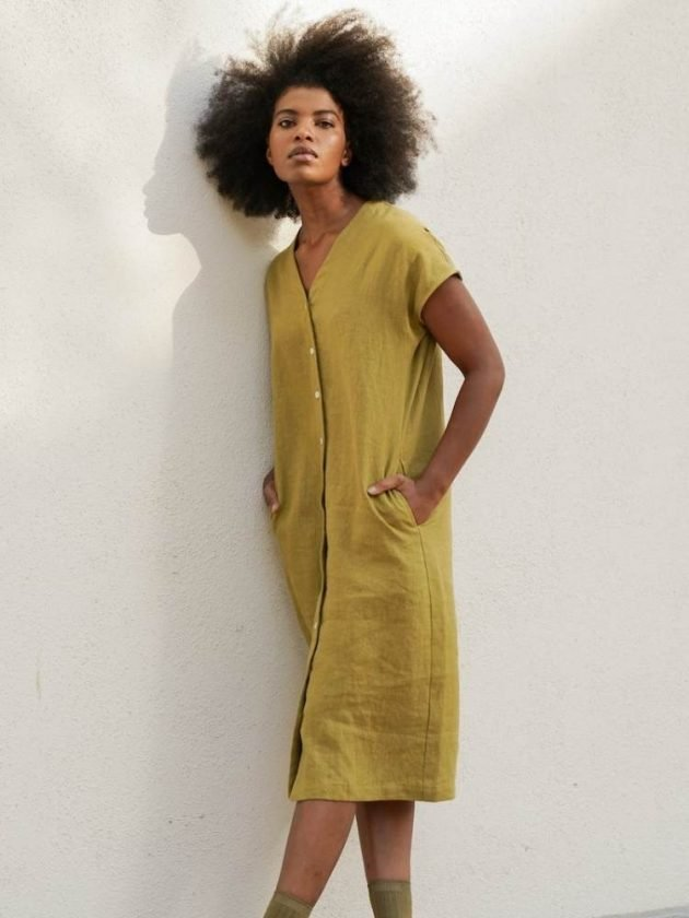 Black-owned linen clothing brand Two Days Off