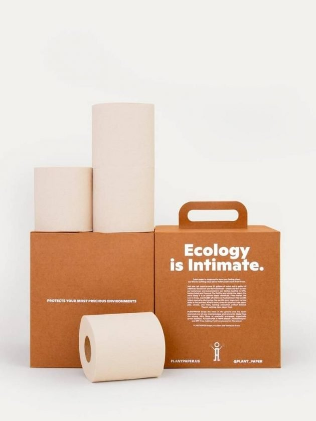 Sustainably-sourced bamboo toilet paper from PlantPAPER