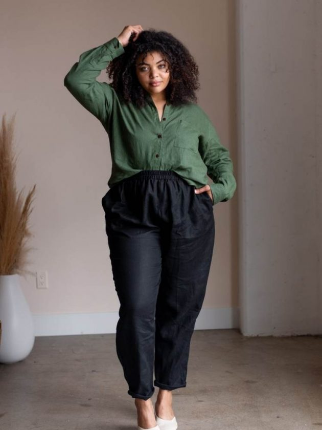 Size inclusive and plus size linen clothing from Sotela