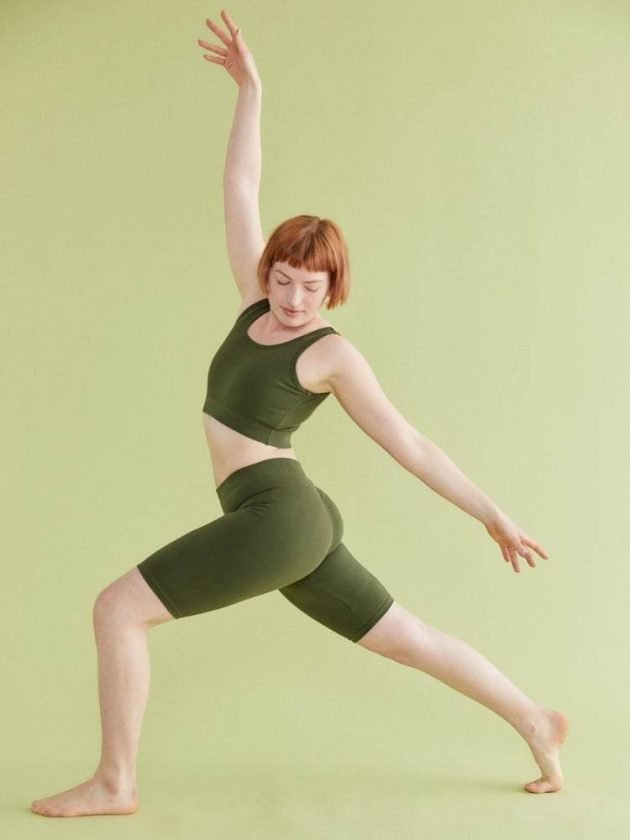 Green sustainable activewear from Vege Threads