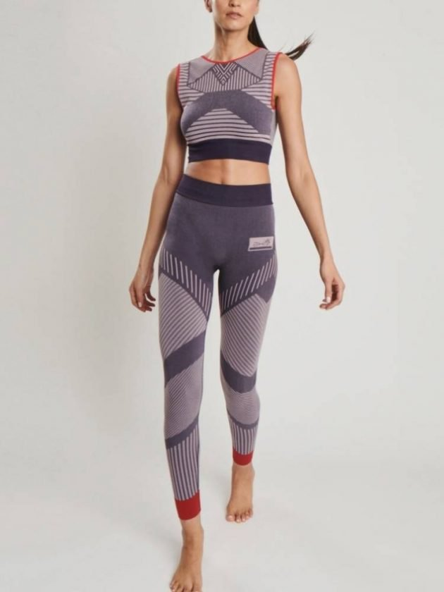 Purple ethical activewear from AHM