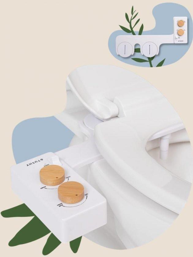 Zero Waste Toilet Paper Alternative: Spa Bidet from TUSHY